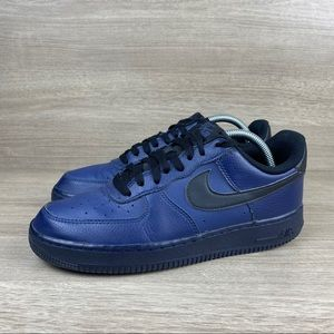 Nike Air Force One AF1 Men's Navy Blue Basketball